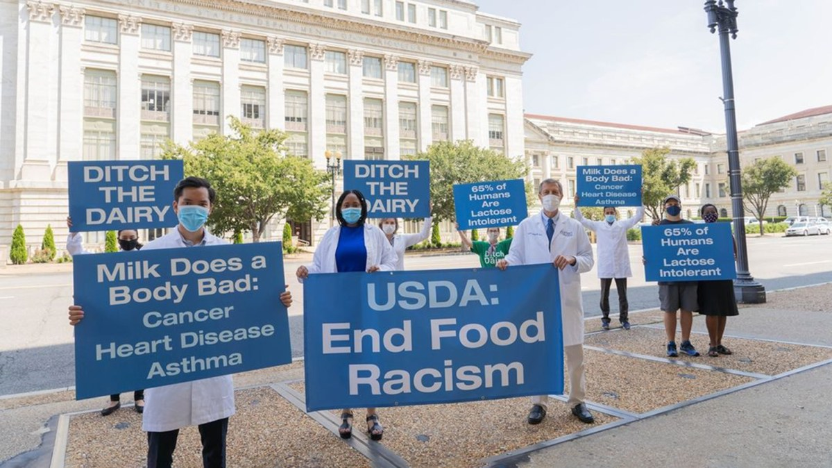 'End Food Racism': Doctors File Lawsuit Against USDA Over Dietary Guidelines Promoting Cow's Milk