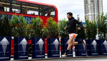 Tenzing plans to plant trees across London to combat air pollution and protect more people as they exercise outdoors