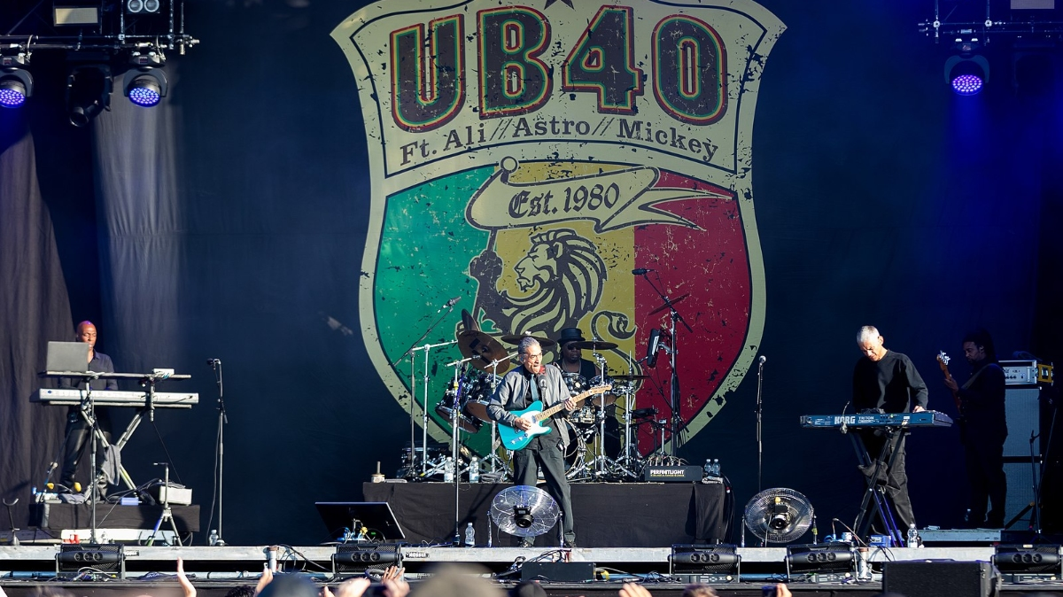 UB40 is launching a vegan red wine and naming it after the iconic no.1 single, red red wine