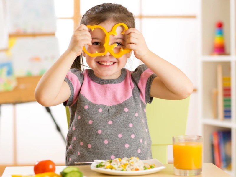 Scottish Nursery Ditches Meat To Celebrate National Vegetarian Week