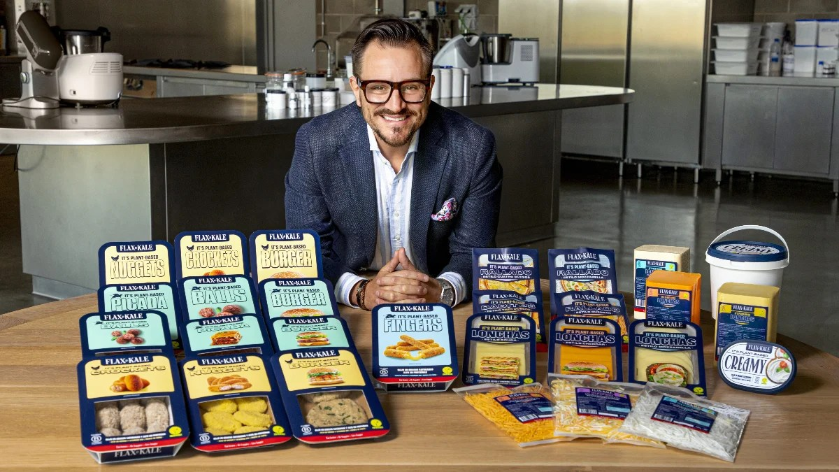 Flax & Kale is unveiling 45 new plant-based products, expanding the limited market in Spain