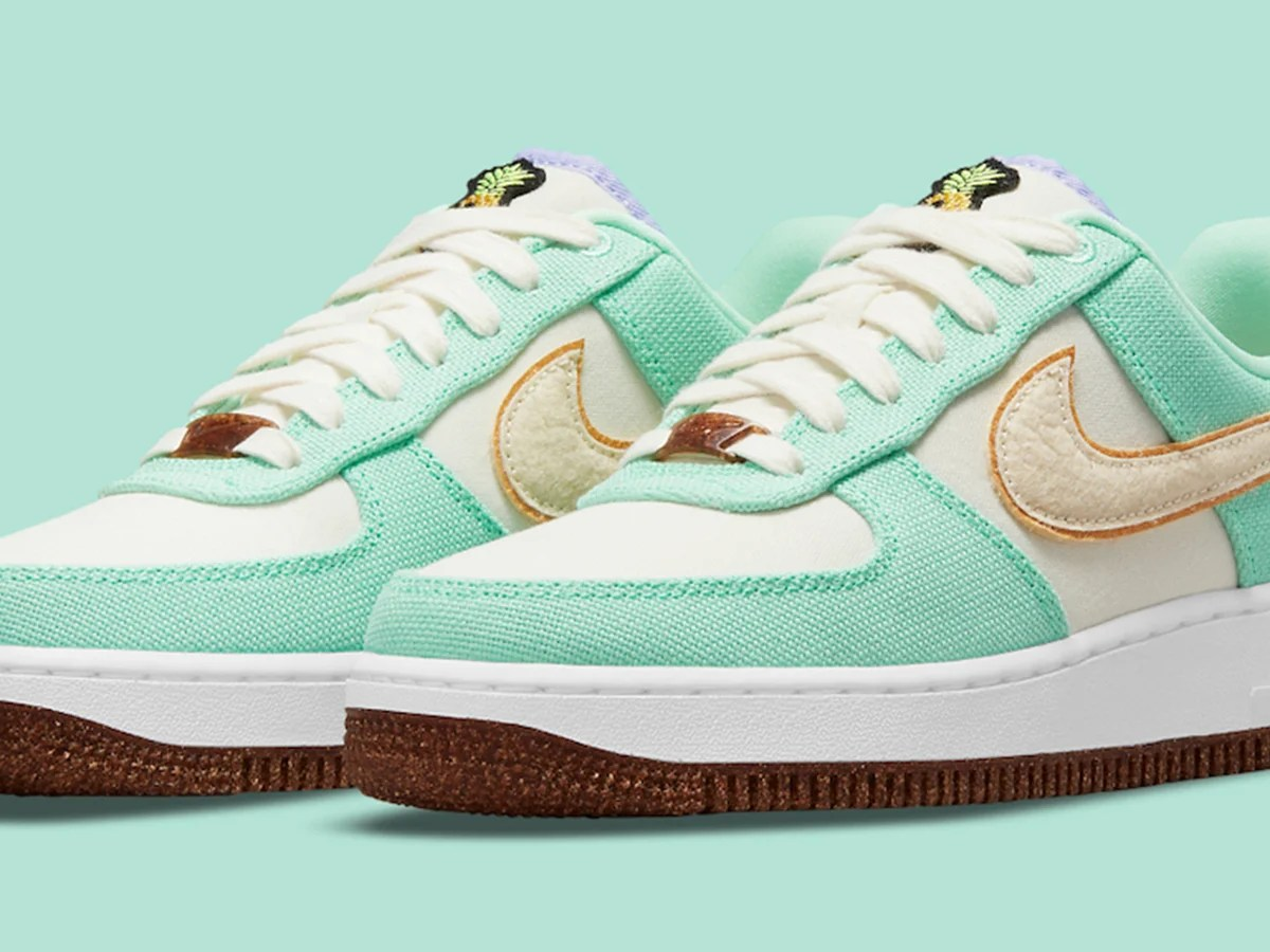 Nike partners with Pinatex to launch vegan pineapple leather sneakers