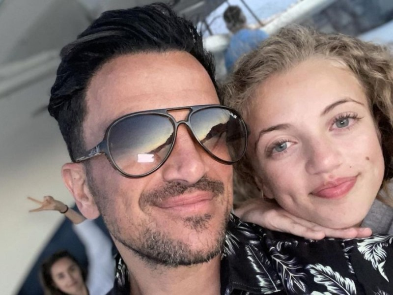Peter Andre was criticized by PETA for posting a video of his daughter swimming with dolphins
