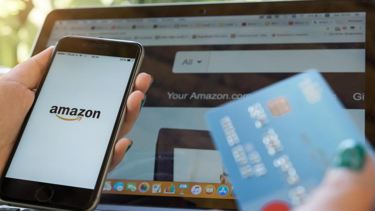 Shoppers buying and searching for products on Amazon