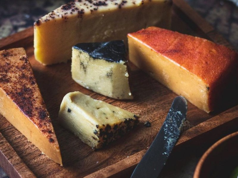 A London-based artisan vegan cheese company has been 'trashed' by vandals after its premises were broken into.