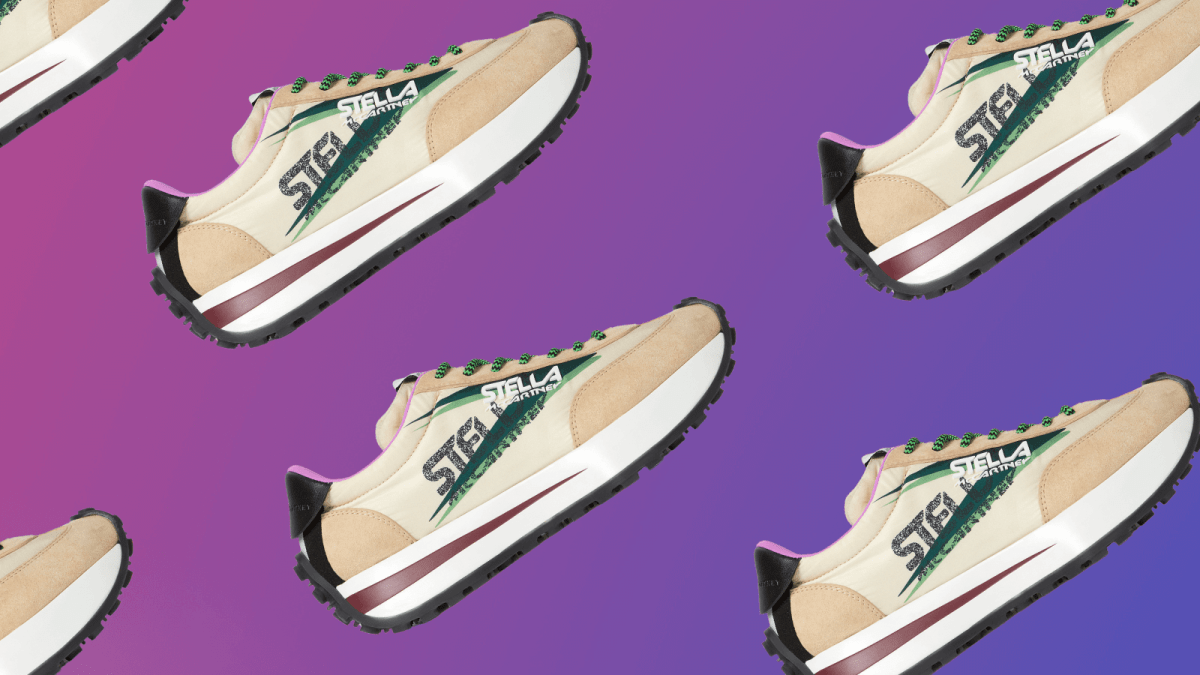 Stella McCartney Debuts Sustainable Vegan Sneakers Made With Recycled Fishing Nets