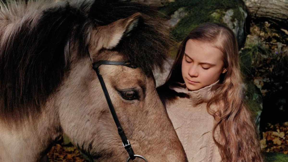 Greta Thunberg features on the initial Vogue Scandinavia cover