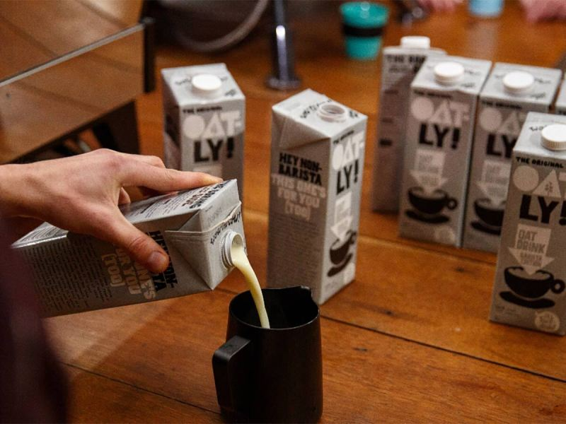 Oatly is seeking to trademark the term 'barista' and is urging Skinny Food Co. to stop using the term
