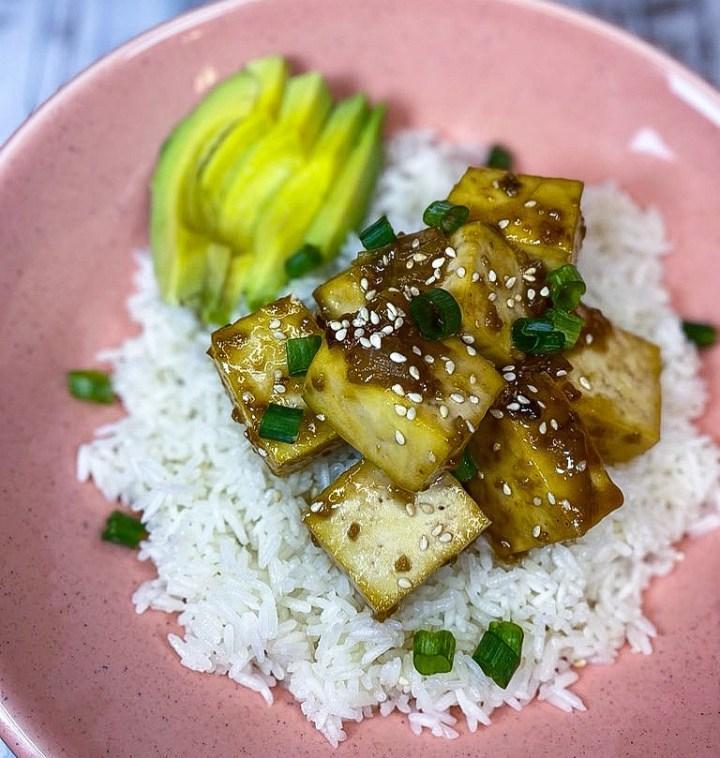 ginger chili tofu
