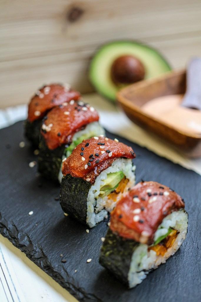 vegan watermelon tuna