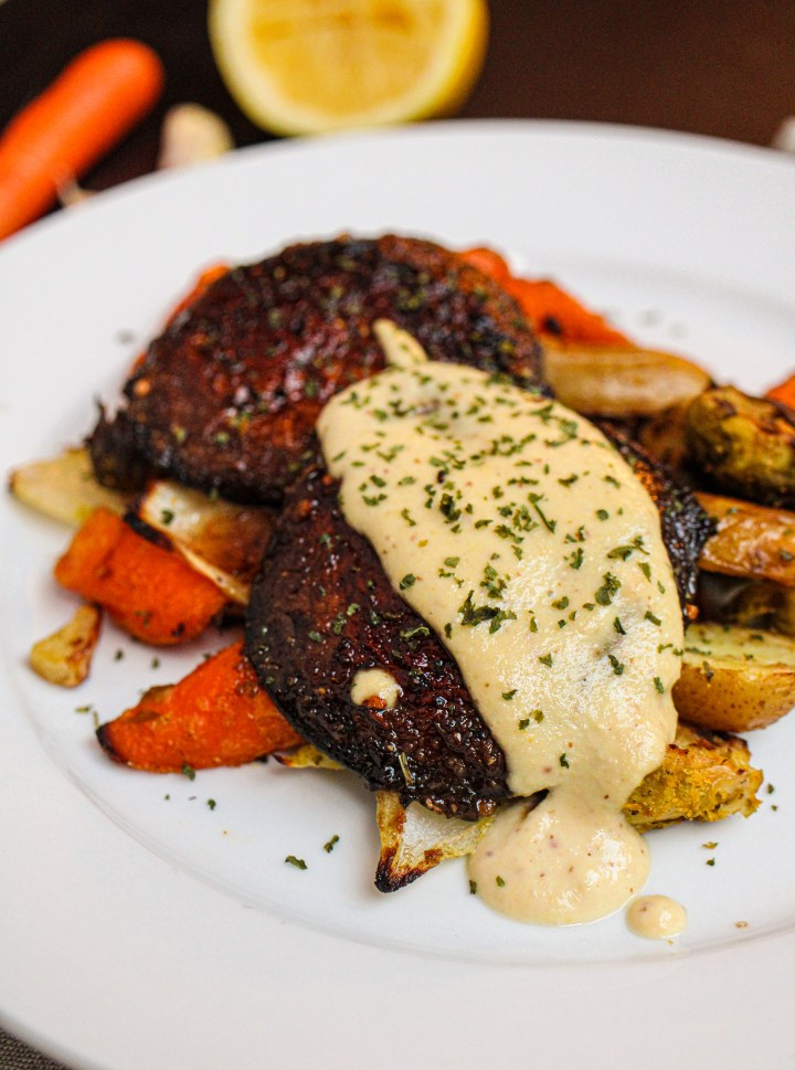 portobello mushroom steaks