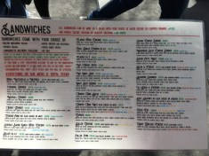Butcher's Son menu