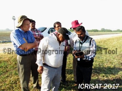 BPAT assessors at ICRISAT