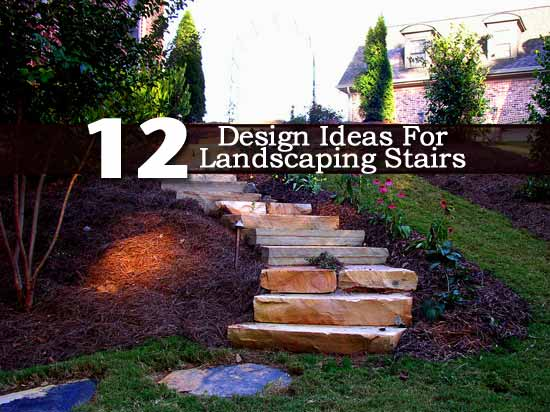 12 Design Ideas for Landscaping Stairs on Backyard Stairs Ideas id=84700