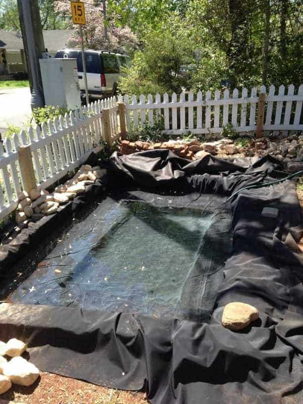 This Front Yard Got A Make Over That Included a Pond! on Front Yard Pond  id=82636