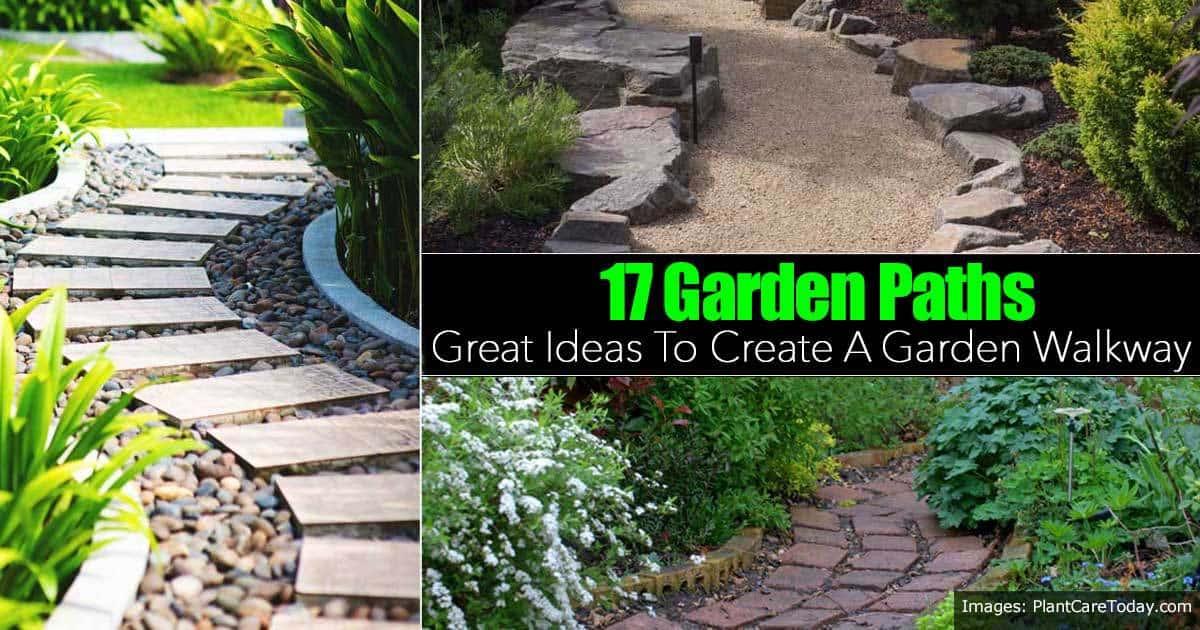 17 Garden Path Ideas: Great Ways To Create A Garden Walkway on Patio And Path Ideas  id=99483