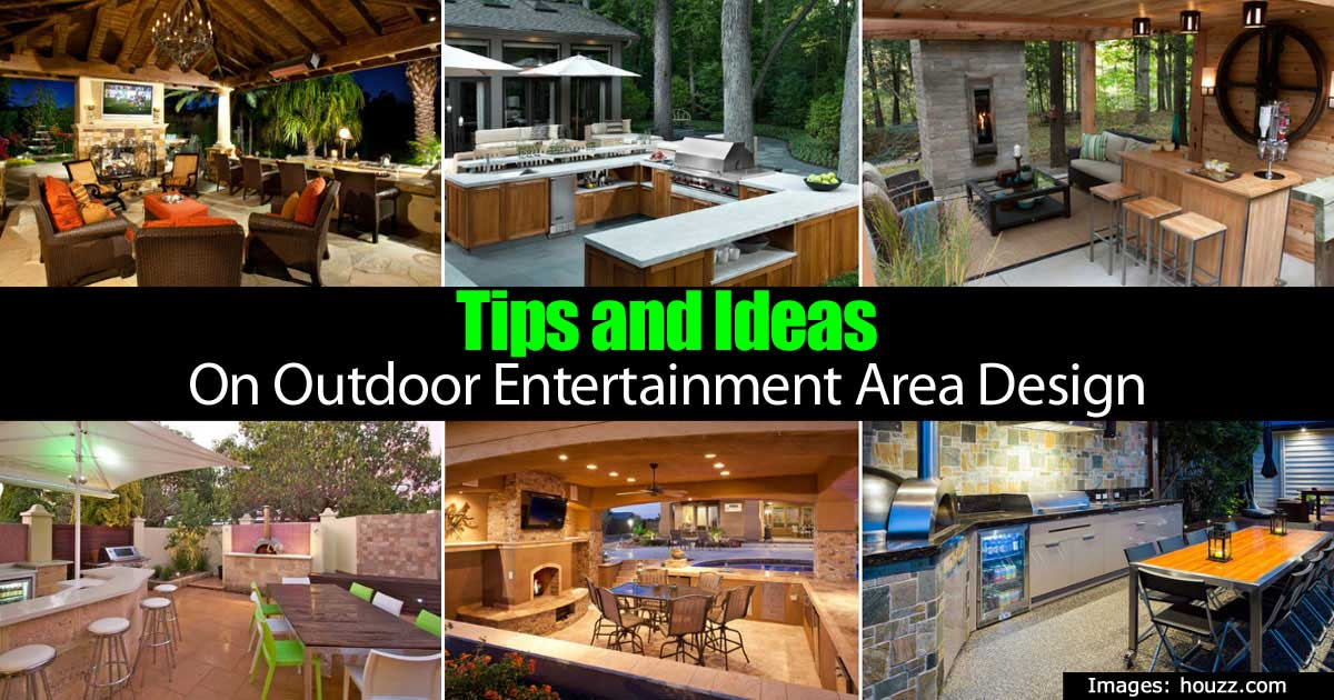Tips and Ideas On Outdoor Entertainment Area Design on Small Backyard Entertainment Area Ideas id=56721