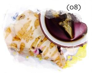 Winter Break Food Adventures   Blueberry Lemon Scone