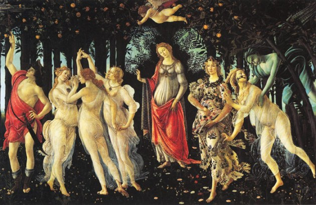 Sandro Botticelli Allegory of Spring