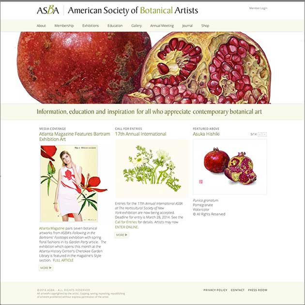 American society for botanical arts