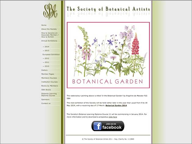 The society of botanical artists