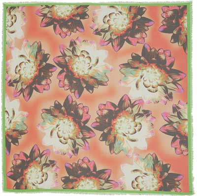 Liberty London Botanical Print Floral Scarf