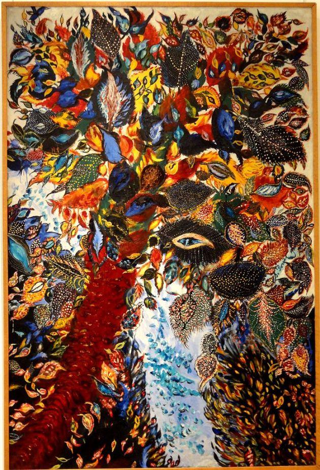 698px-Senlis_(60),_musée_d'art_et_d'archéologie,_Séraphine_Louis,_L'arbre_de_Paradis_(1928-30)