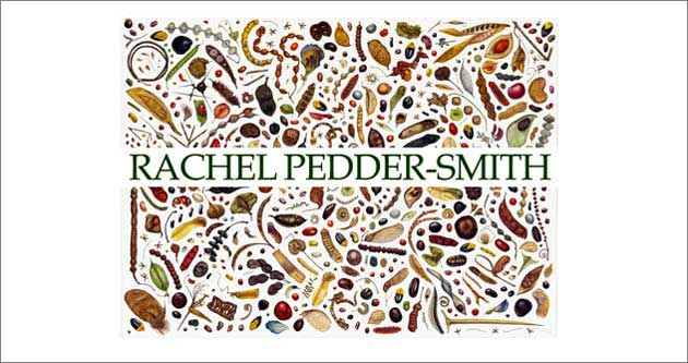 Rachel Pedder-Smith botanically themed website