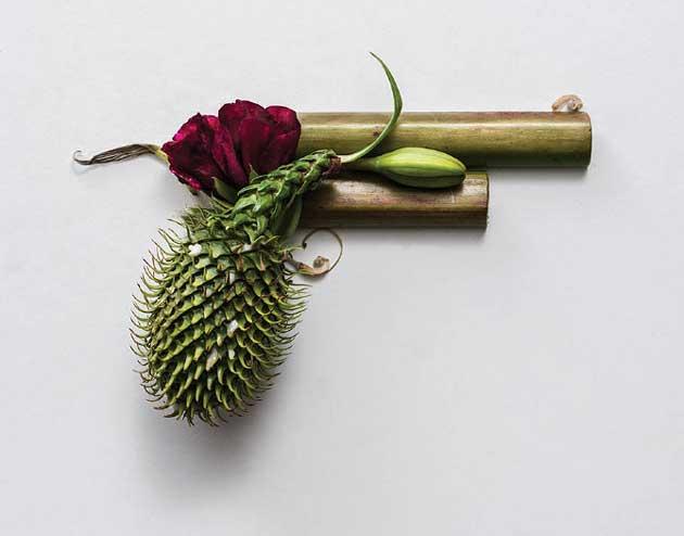 harmless flower guns