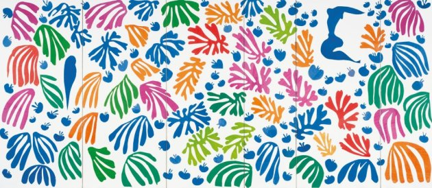 Matisse leafy cut-outs
