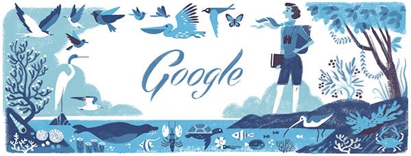 Rachel Carson Google Doodle