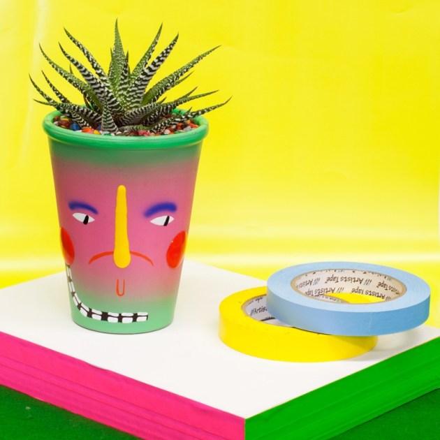 Ben Saunders Cacti Pots