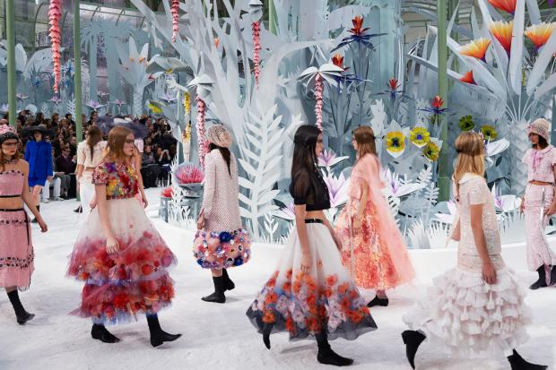 Chanel floral garden