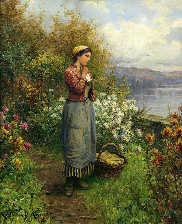 Julia on the Terrace, 1909