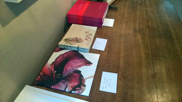 Botanical art books