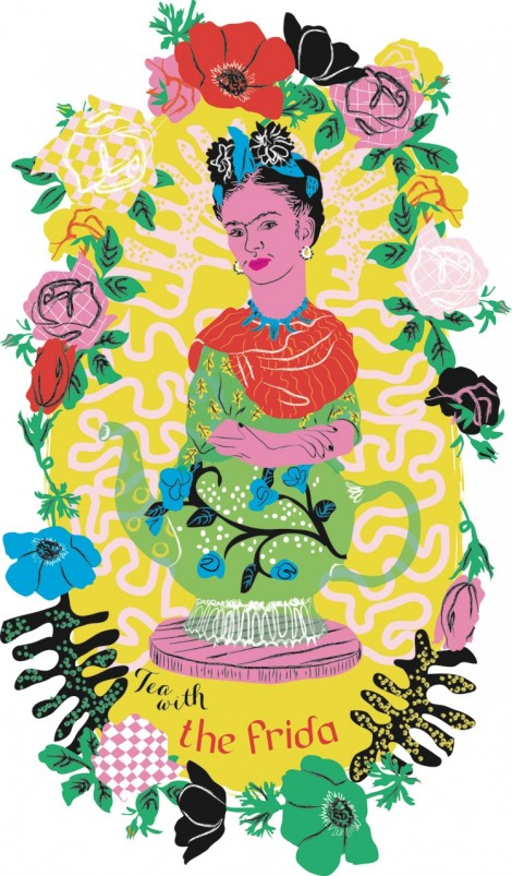 Tea with the Frida (and her plants)