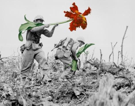 Nine 21st Century flower power artists