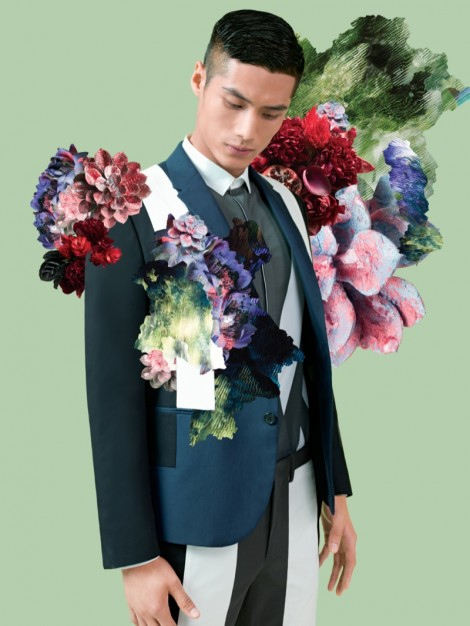 Fashion campaigns surround themselves in plants