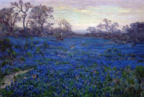 Onderdonk's blue plant landscapes