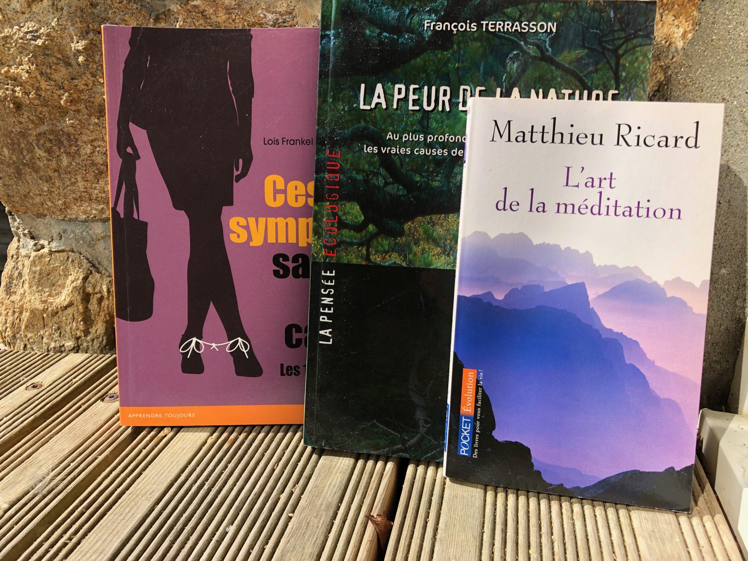 Des livres pour changer son destin (et ptêt celui de la planète sur un malentendu)