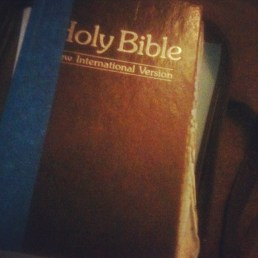 my old looks like i stole it from a church pew bible