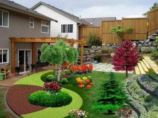 house beautiful garden design 54 LANDSCAPING IDEAS FOR FRONT YARDS AND BACKYARDS
