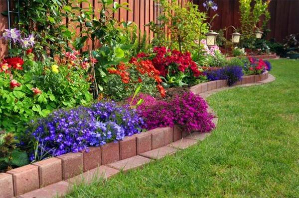 37 Creative Lawn and Garden Edging Ideas with Images ... on Backyard Border Ideas  id=79015