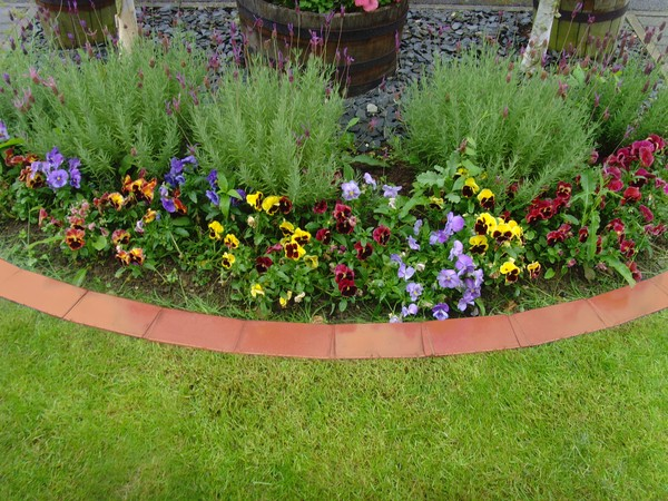 37 Creative Lawn and Garden Edging Ideas with Images ... on Backyard Border Ideas  id=54563