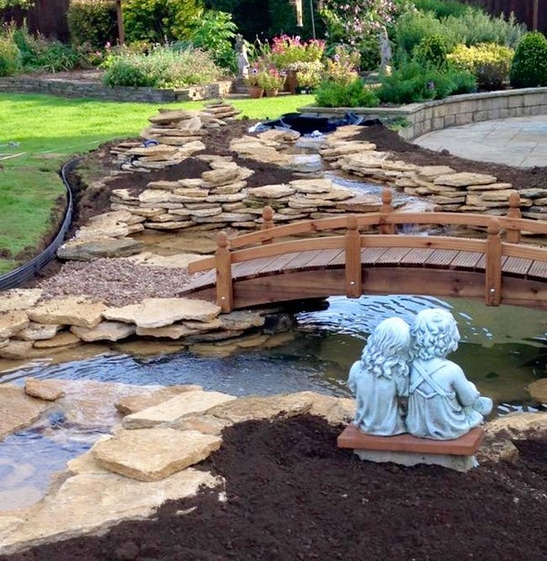 41 Inspiring Garden Water Features with Images - Planted Well on Water Feature Ideas For Patio id=58759