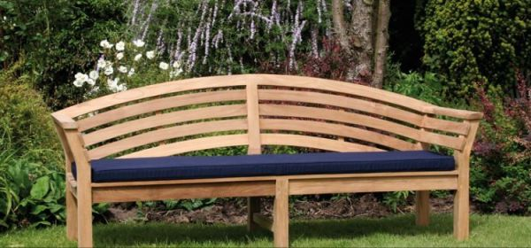 beautiful garden benches 15 Beautiful Wooden Benches for Sale - Planted Well