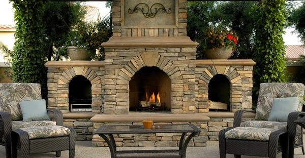 Outdoor Fireplace Ideas: Top 10 Outdoor Fireplace Kits ... on Diy Outside Fireplace id=88717