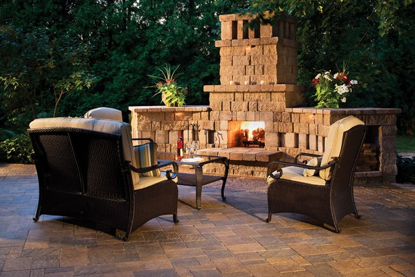 Outdoor Fireplace Ideas: Top 10 Outdoor Fireplace Kits ... on Diy Outside Fireplace id=23788