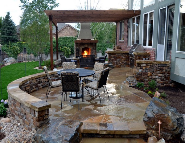 Outdoor Fireplace Ideas: Top 10 Outdoor Fireplace Kits ... on Outdoor Kitchen And Fireplace Ideas id=99090