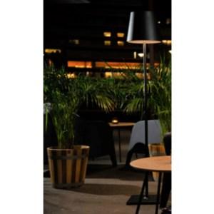 Livorno Gulvlampe portable 4,5W LED 830 IP54 Grå